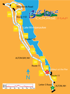 Big Lake Course Map