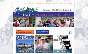 Big Lake Half Marathon, Alton, NH